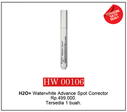 H2O+ Waterwhite Advance Spot Corrector