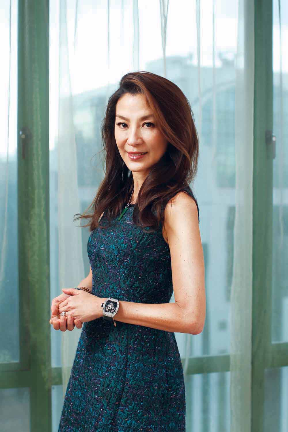 A Chat With Michelle Yeoh