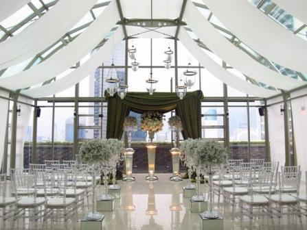 Nuansa Intim di Indoor Penthouse Terrace Grand Hyatt
