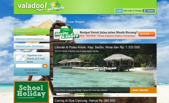 Pilihan Jenis Travel dari Valadoo