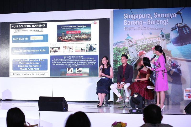 "Singapura Tourism Board Indonesia Luncurkan Kampanye ""Singapura, Serunya Bareng-bareng!"""