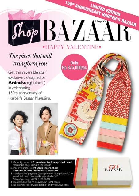 Limited Edition 150th Anniversary Harper's Bazaar