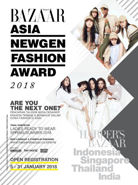 ASIA NEWGEN FASHION AWARD 2018