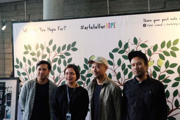 'ArtotelForHope' 2018 untuk Konservasi Hutan Kalimantan