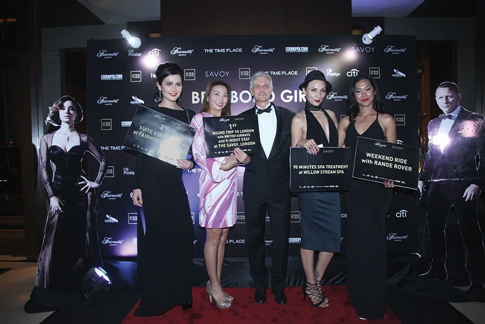 Be A Bond Girl: The Search Party