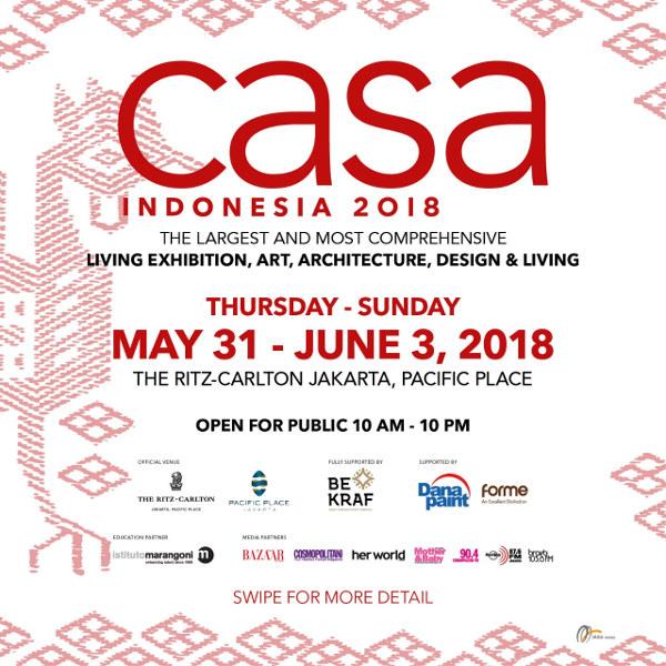 Casa Indonesia 2018!