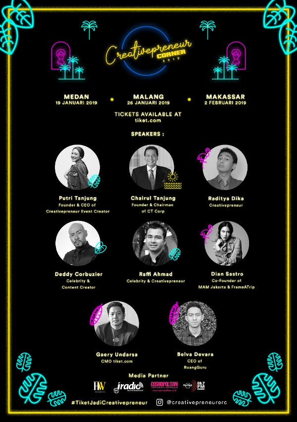 Creativepreneur Corner 2019