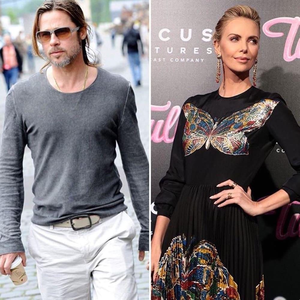 Di Balik Rumor Hubungan Brad Pitt-Charlize Theron