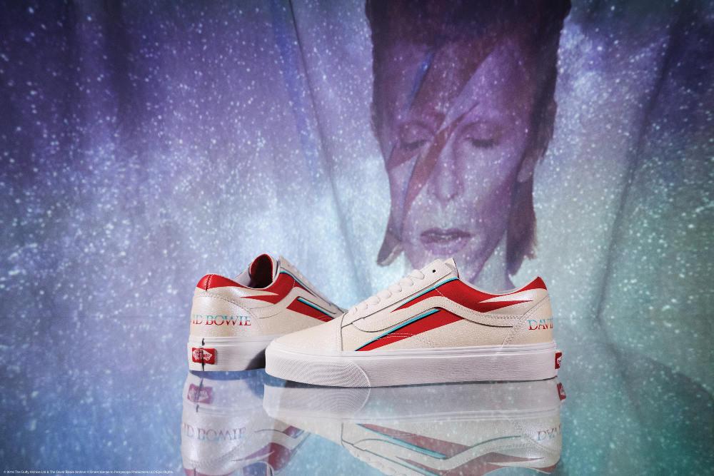 Mengenang Masa Kejayaan David Bowie Bersama Vans