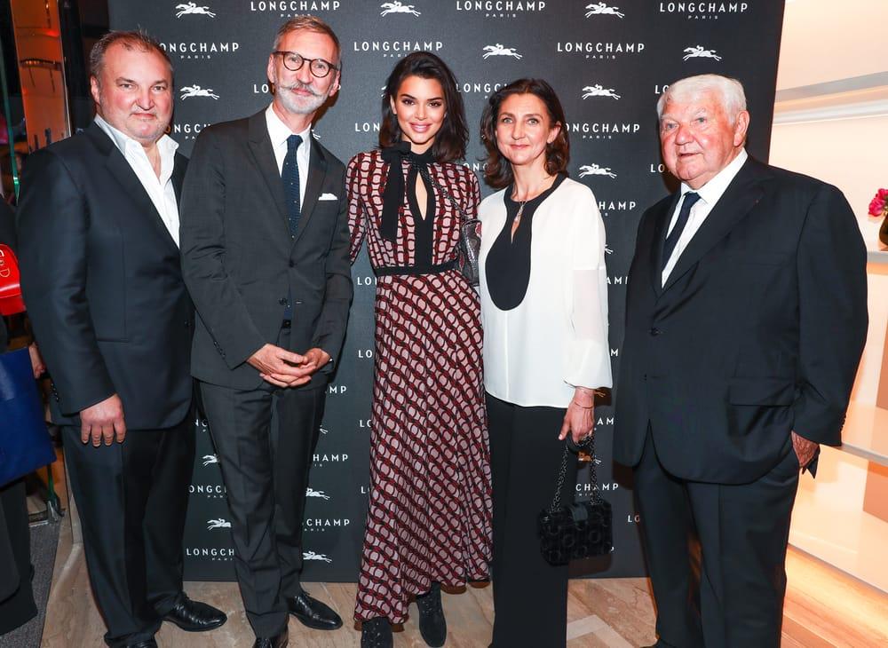 Pembukaan Toko Longchamp Di Fifth Avenue New York