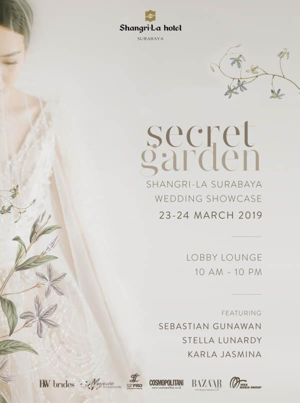Secret Garden - Shangri-La Wedding Showcase 2019