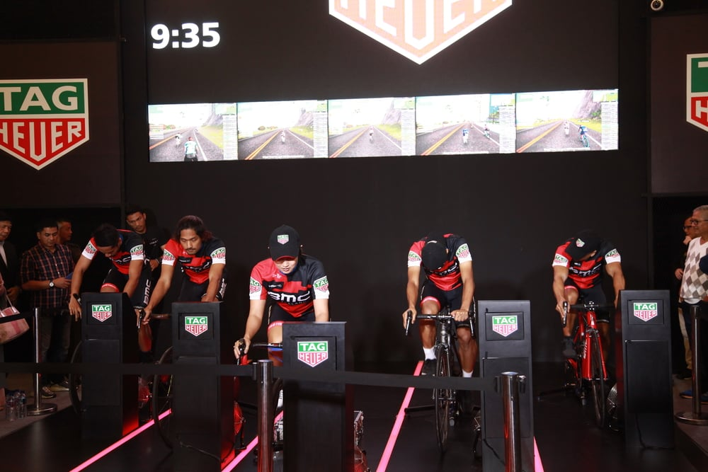 Tag Heuer Adakan Sports Hub Exhibition di Senayan City