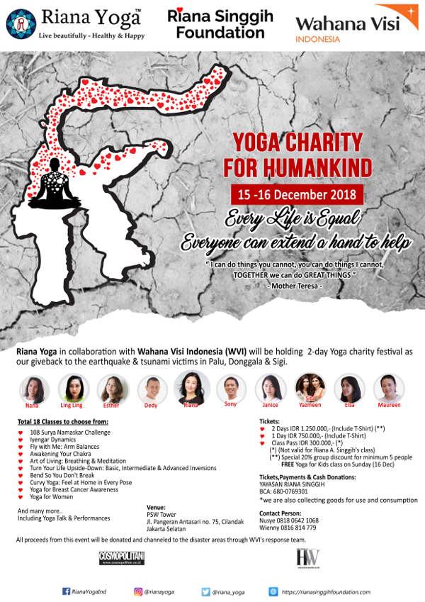 Yoga Charity for Humankind