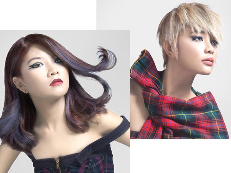 Makin Cantik dengan Pilihan Warna Rambut Wanita Asia