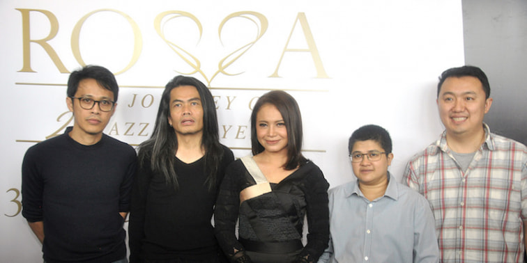 Rossa Adakan Konser The Journey of 21 Dazzling Years