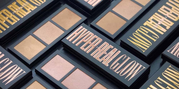 Mac Hadirkan Palet Highlighter Hyper Real Glow