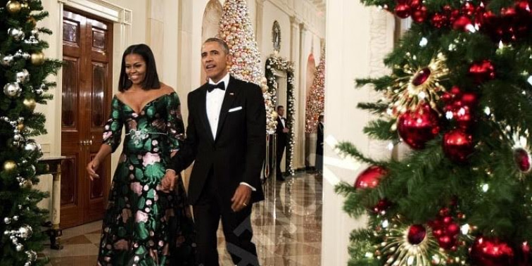 Spotted: Michelle Obama Mengenakan Gucci