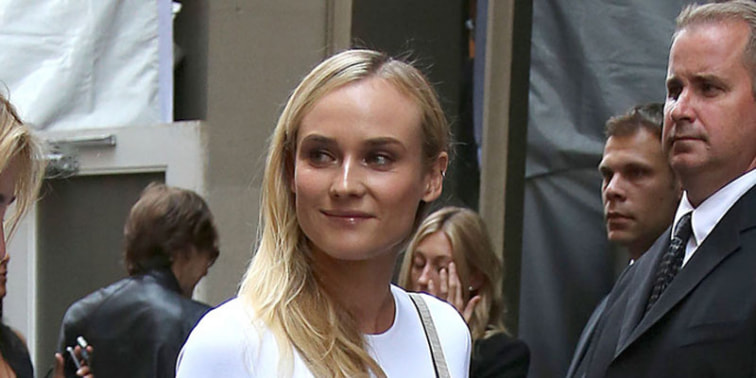 Popularitas Diane Kruger di Red Carpet