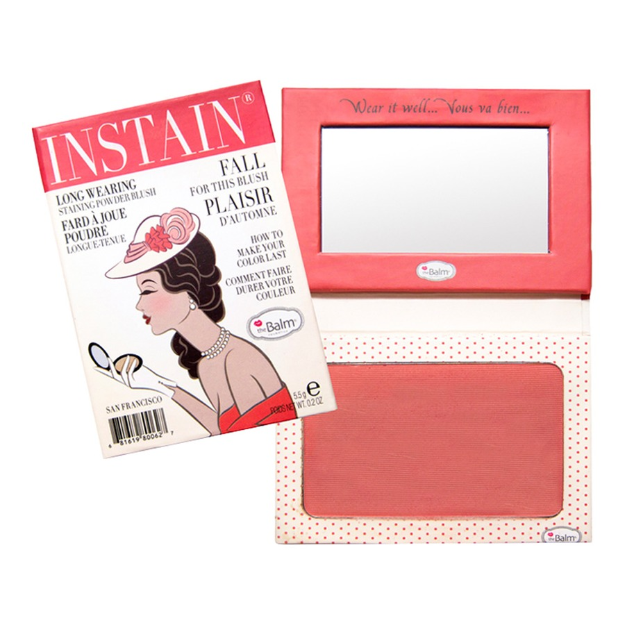 Blush stain the balm in stain blush