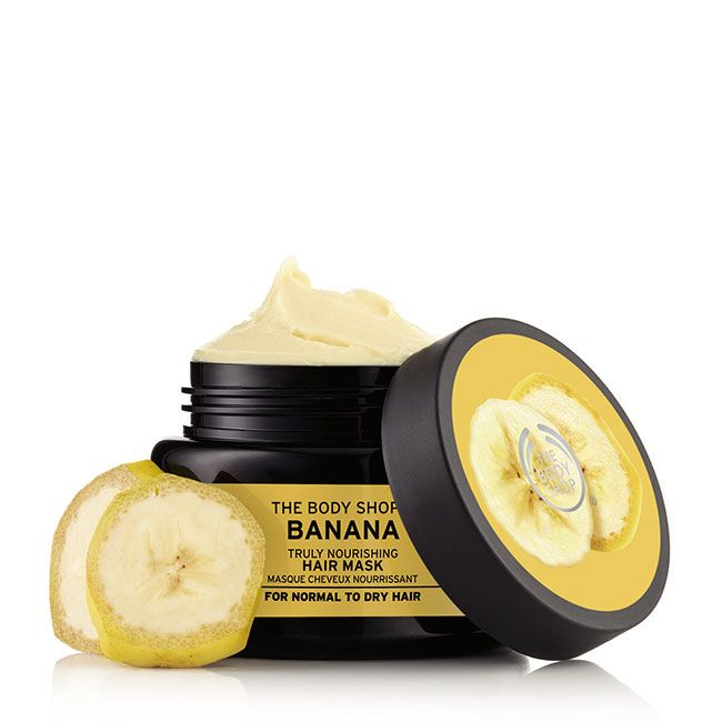Banana Truly Nourishing Hair Mask- The Body Shop