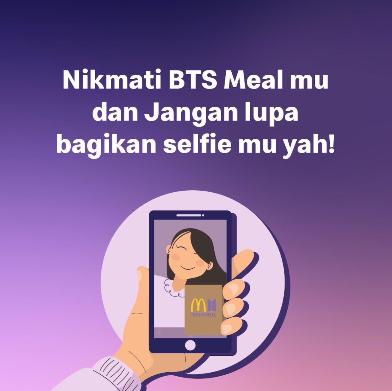 Challenge dari BTS Meal