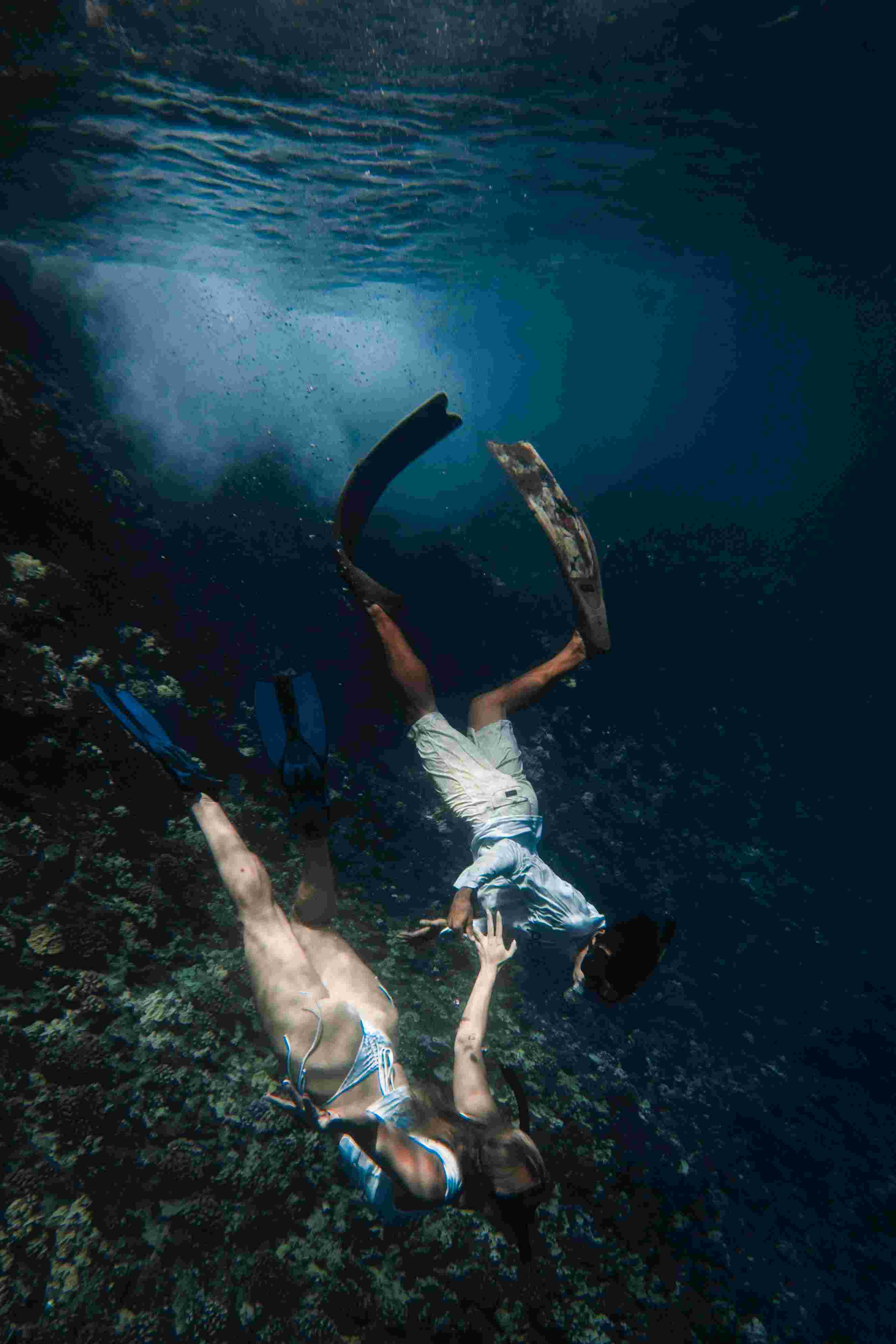 mengenal freediving, olahraga yang digeluti dikta