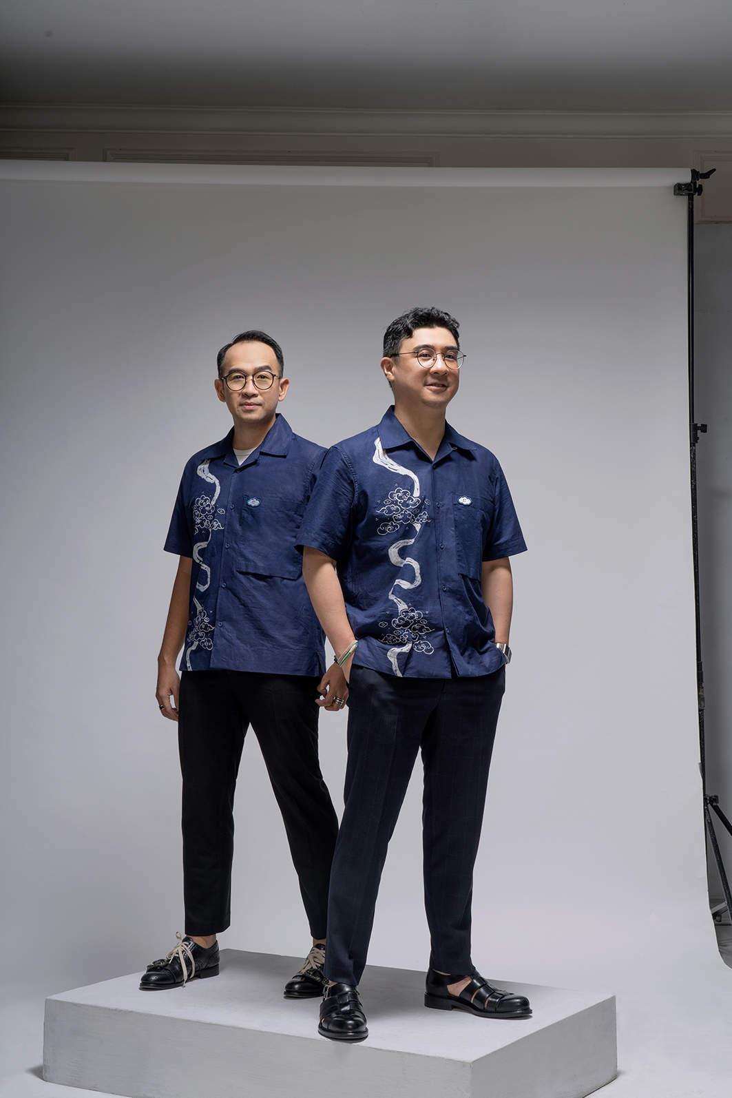 Batik Awan Harapan, kolaborasi Axton Salim, Ibu Rusun binaan JKT Creative, dan One Fine Sky