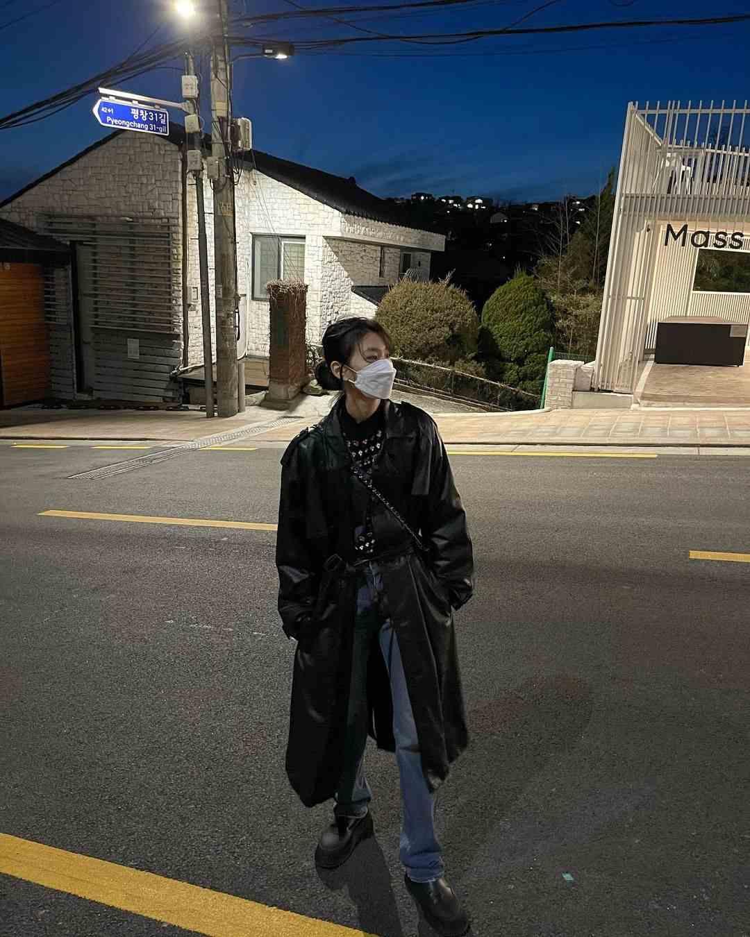 gaya busana jung ho yeon