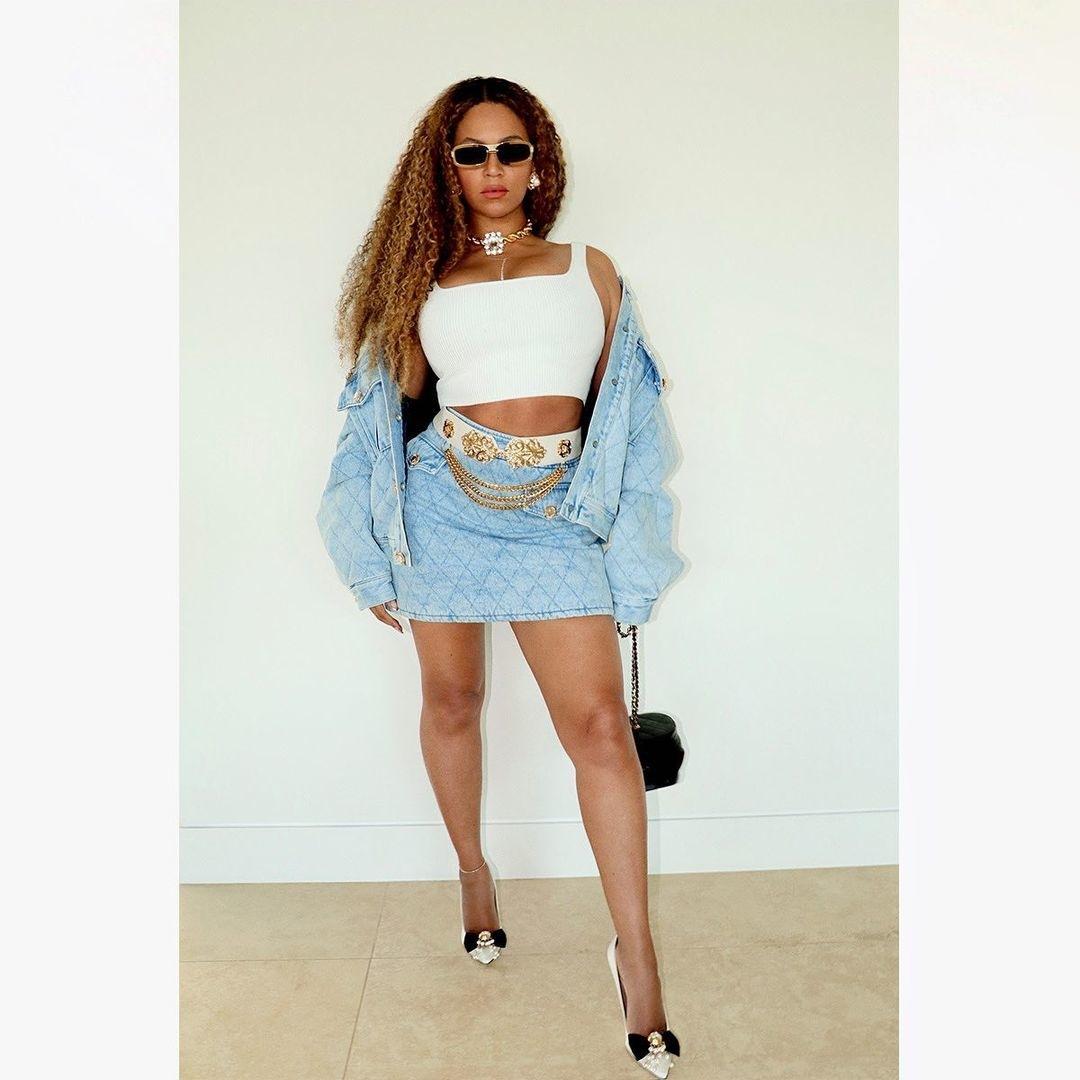 Inspirasi Instagram Look Terbaik dari Beyoncé