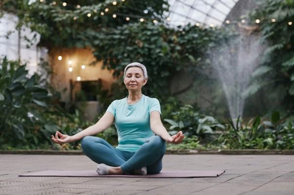 langkah-langkah yoga mata