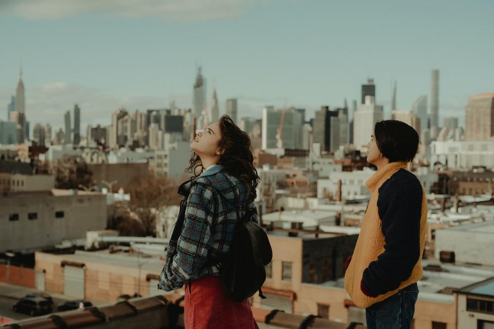 Menggambarkan kota New York