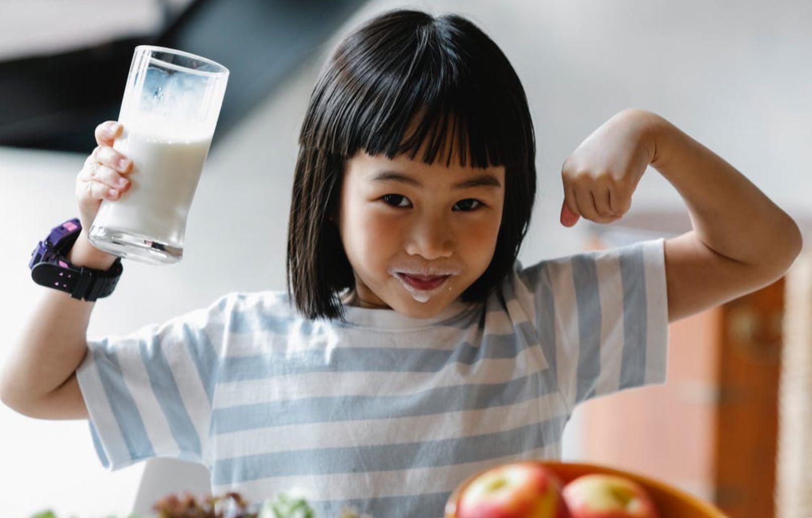 susu rendah lemak untuk penderita maag