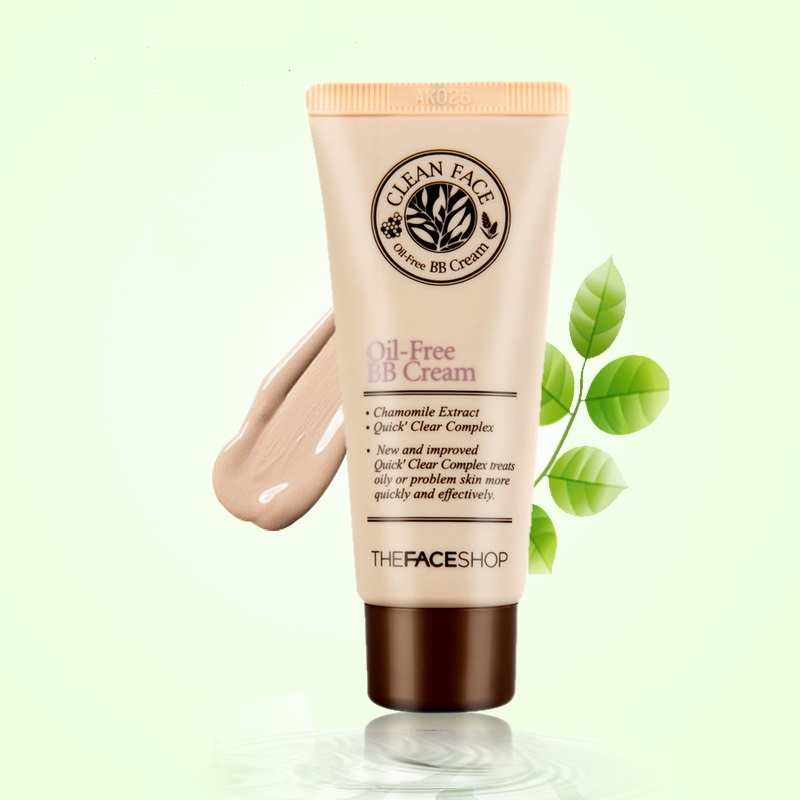 The Face Shop - Clean Face Oil Free BB Cream