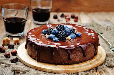Cara Membuat Chocolate Hazelnut Cake