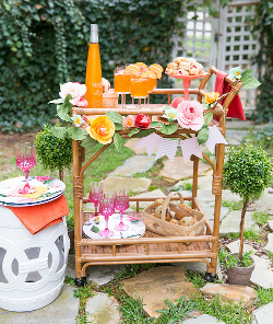 Inspirasi Bridal Shower Bernuansa Musim Semi