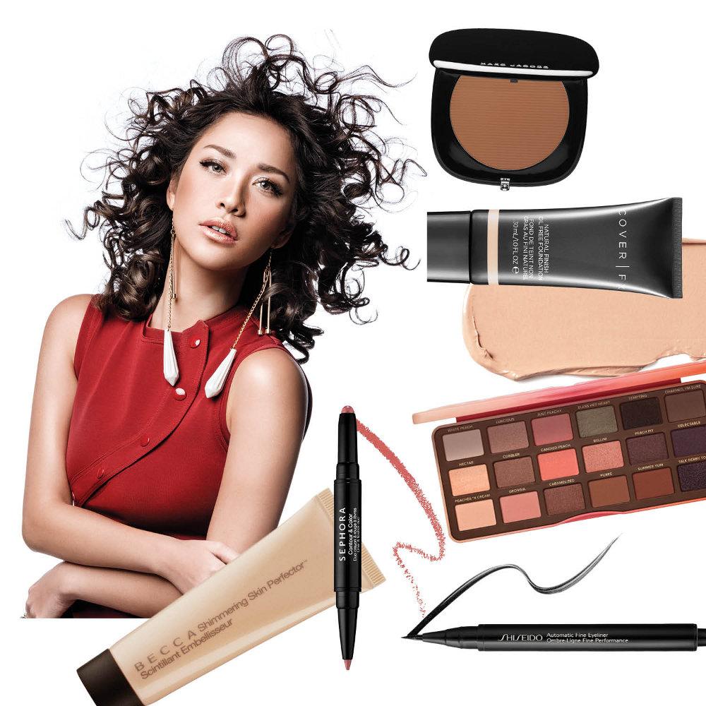 Make Up Bunga Citra Lestari di Cover her world