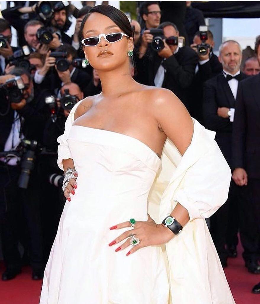 Tanggapan Rihanna Setelah Dibilang Gemuk