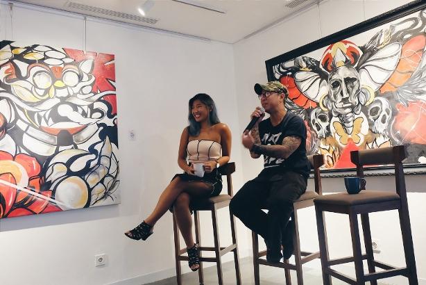 "Pameran Seni Underground ""Rise & Grind"" Perdana ARTOT"