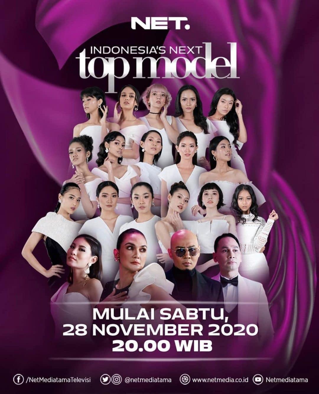 Indonesia's Next Top Model Segera Hadir Dengan 4 Juri Ini