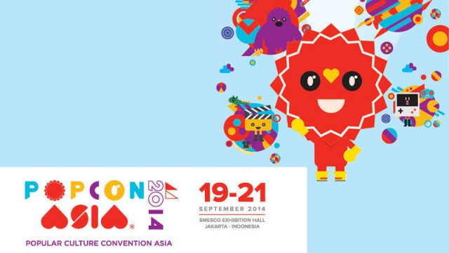 Pesta Kreativitas di POPCON ASIA 2014