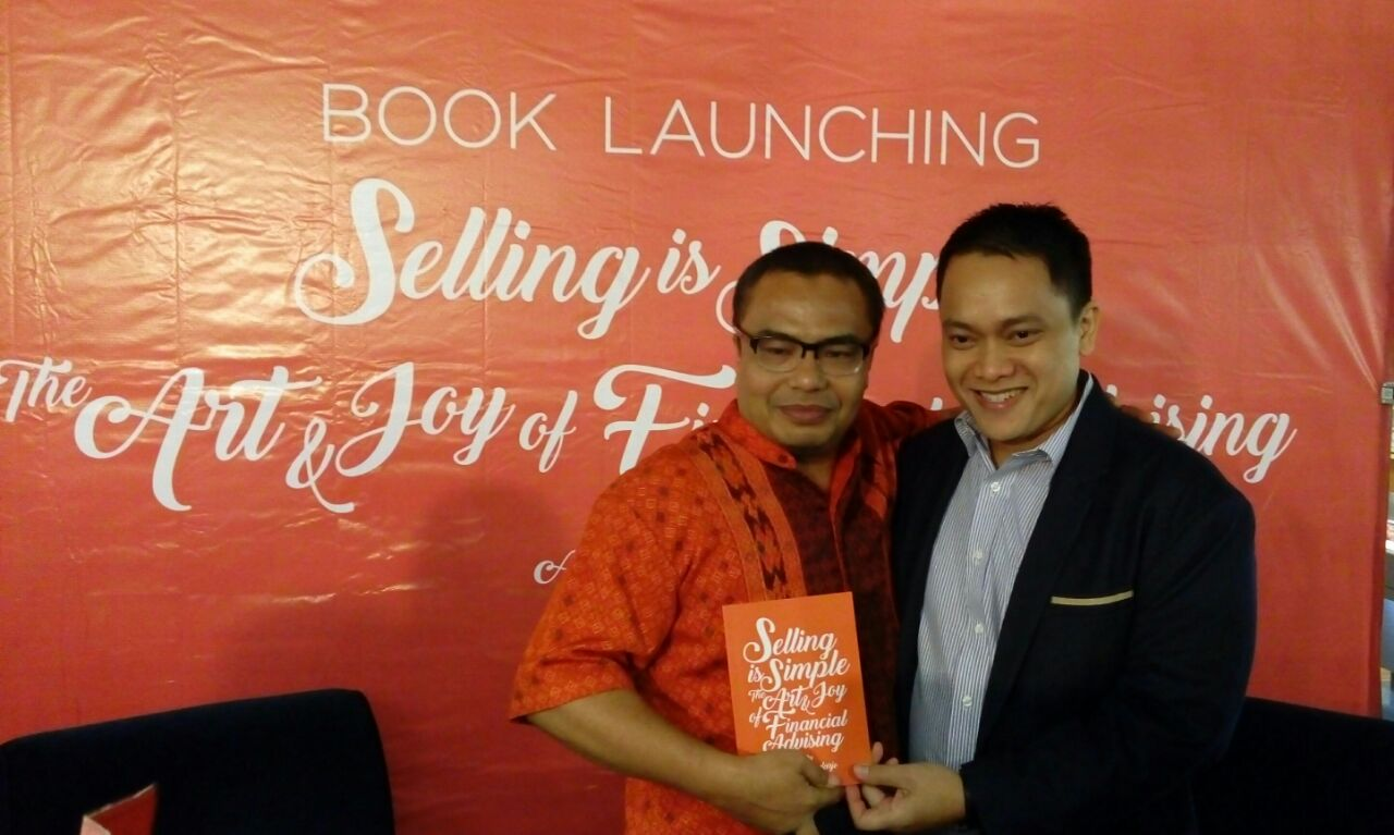 Peluncuran Buku Selling is Simple karya Alvin Soedarjo