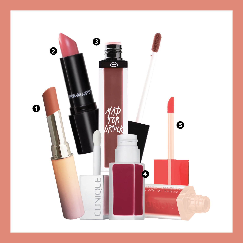5 Pilihan Lipstik Matte Terbaru