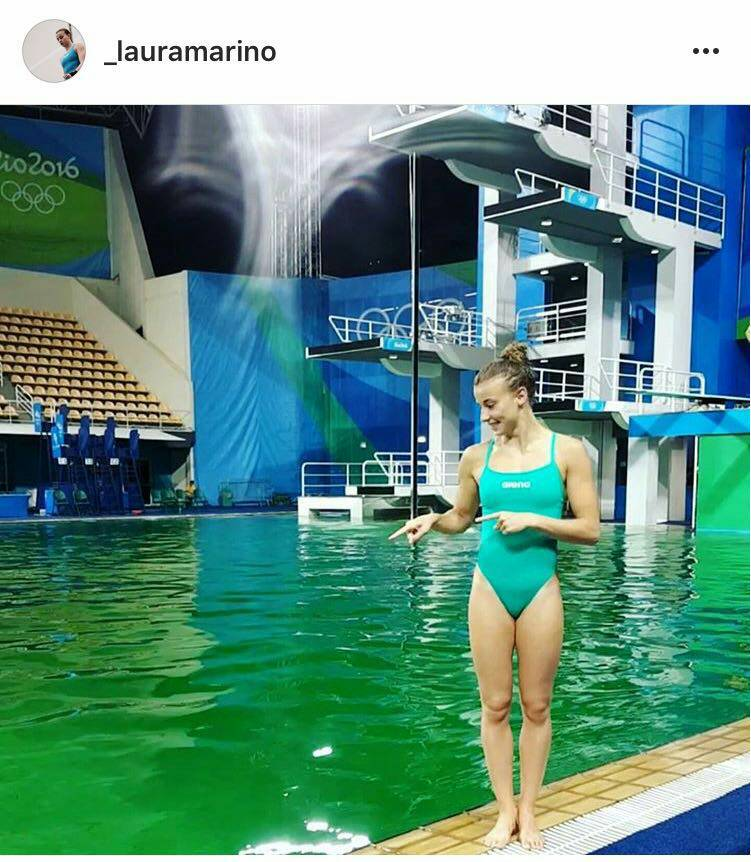 Ini Alasan Warna Kolam di Olimpiade Rio Berubah Hijau