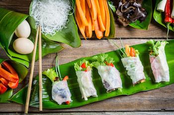 Cara Membuat Lumpia Sehat Vietnam