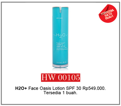 H2O+ Face Oasis Lotion SPF 30