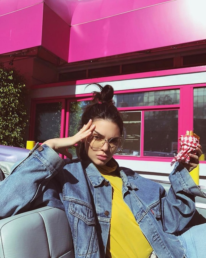 Kendall Jenner Menjadi Wajah Baru Adidas