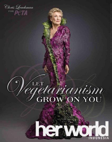 Organisasi PETA Buat Kampanye Vegetarian