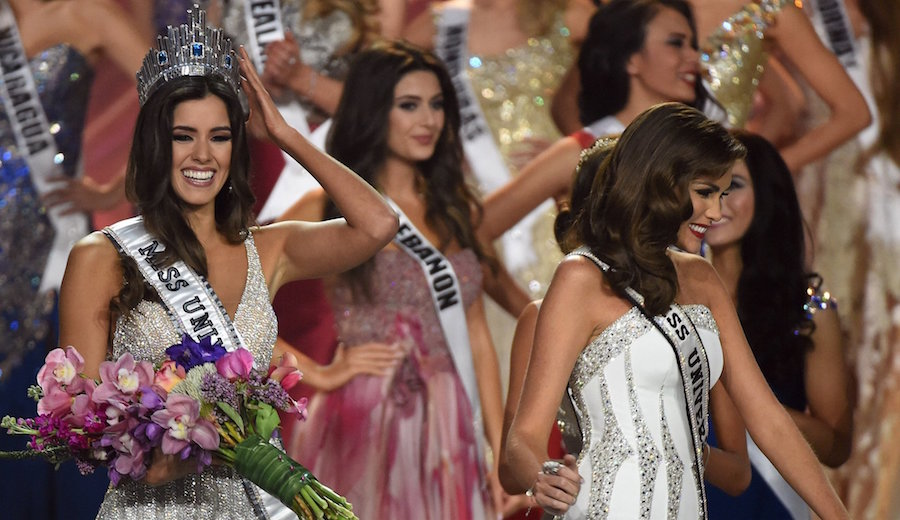 Paulina Vega Dari Colombia Miss Universe 2015