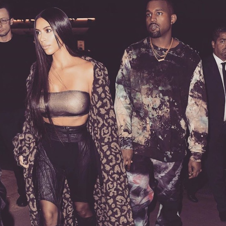 Kanye dan Kim Merayakan Thanksgiving di Rumah Sakit