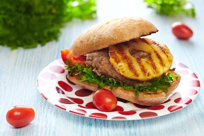 Cara Membuat Hawaiian Burger